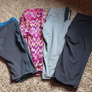 Women's workout capris
